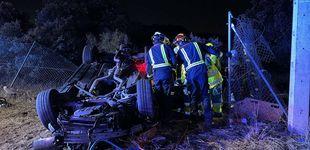 Post de Muere un joven de 24 años tras salirse su coche de la carretera en Valdemorillo (Madrid)