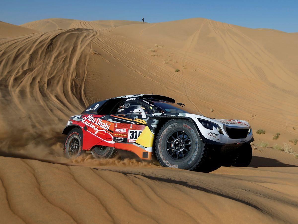 Foto: La segunda etapa del Rally Dakar estuvo marcada por las dunas. (Reuters)