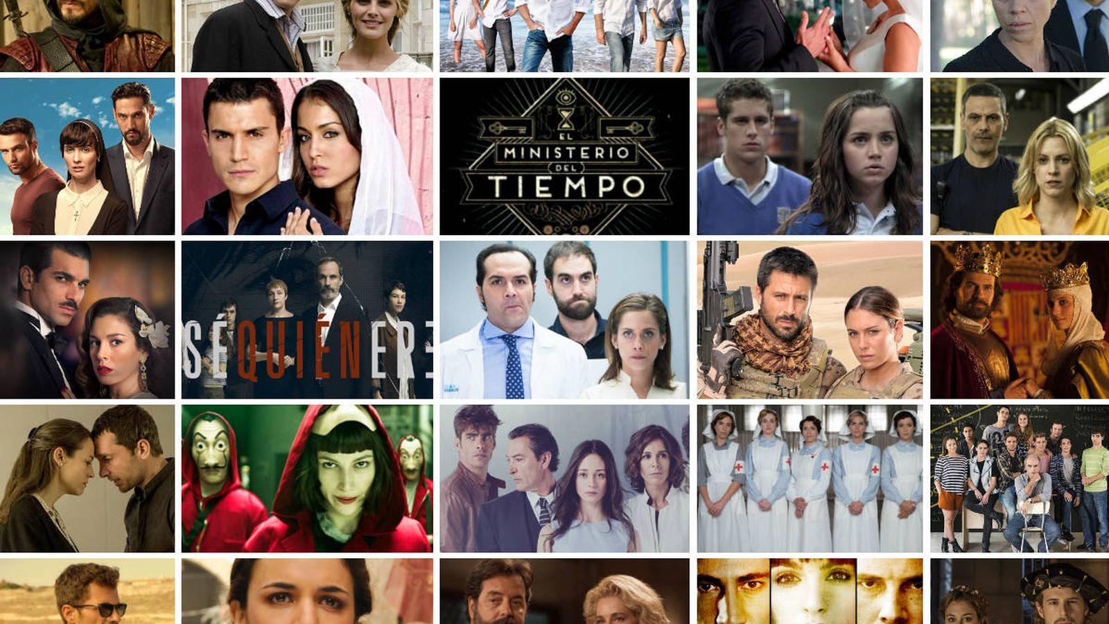 Foto: Ficciones emitidas por Netflix y HBO. (EL CONFI TV)