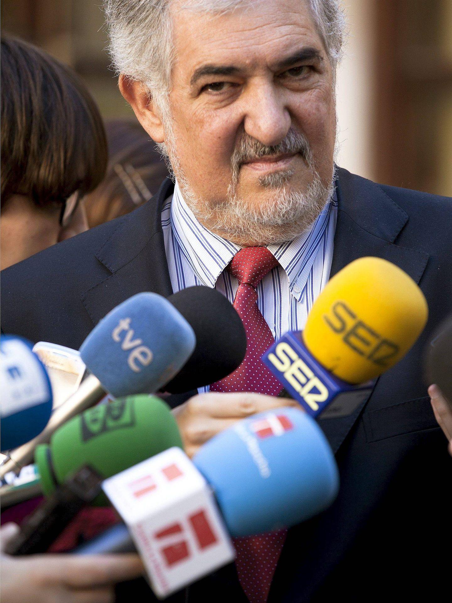 El instructor de la causa contra Barberá, Cándido Conde-Pumpido. (Efe)