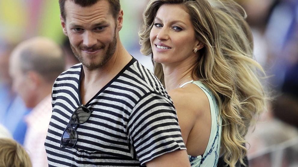 Gisele Bündchen arropa a su marido en la Super Bowl, pese a su traición