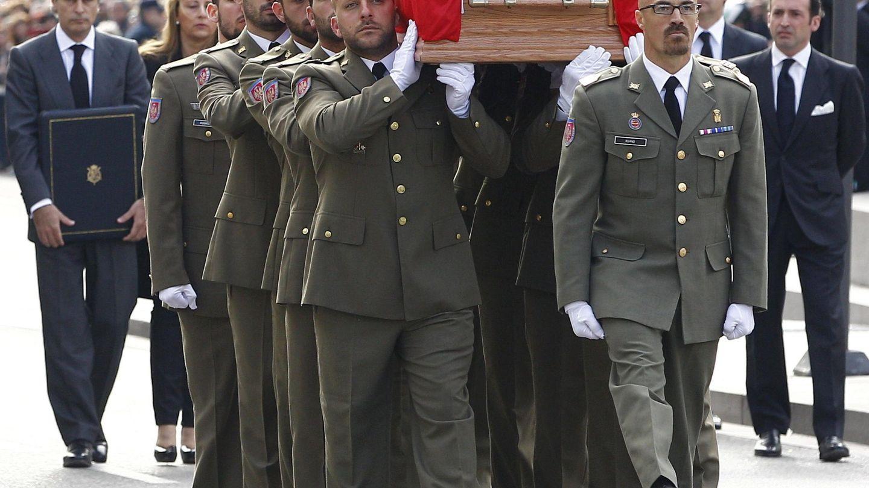Funeral de Adolfo Suárez. (EFE)
