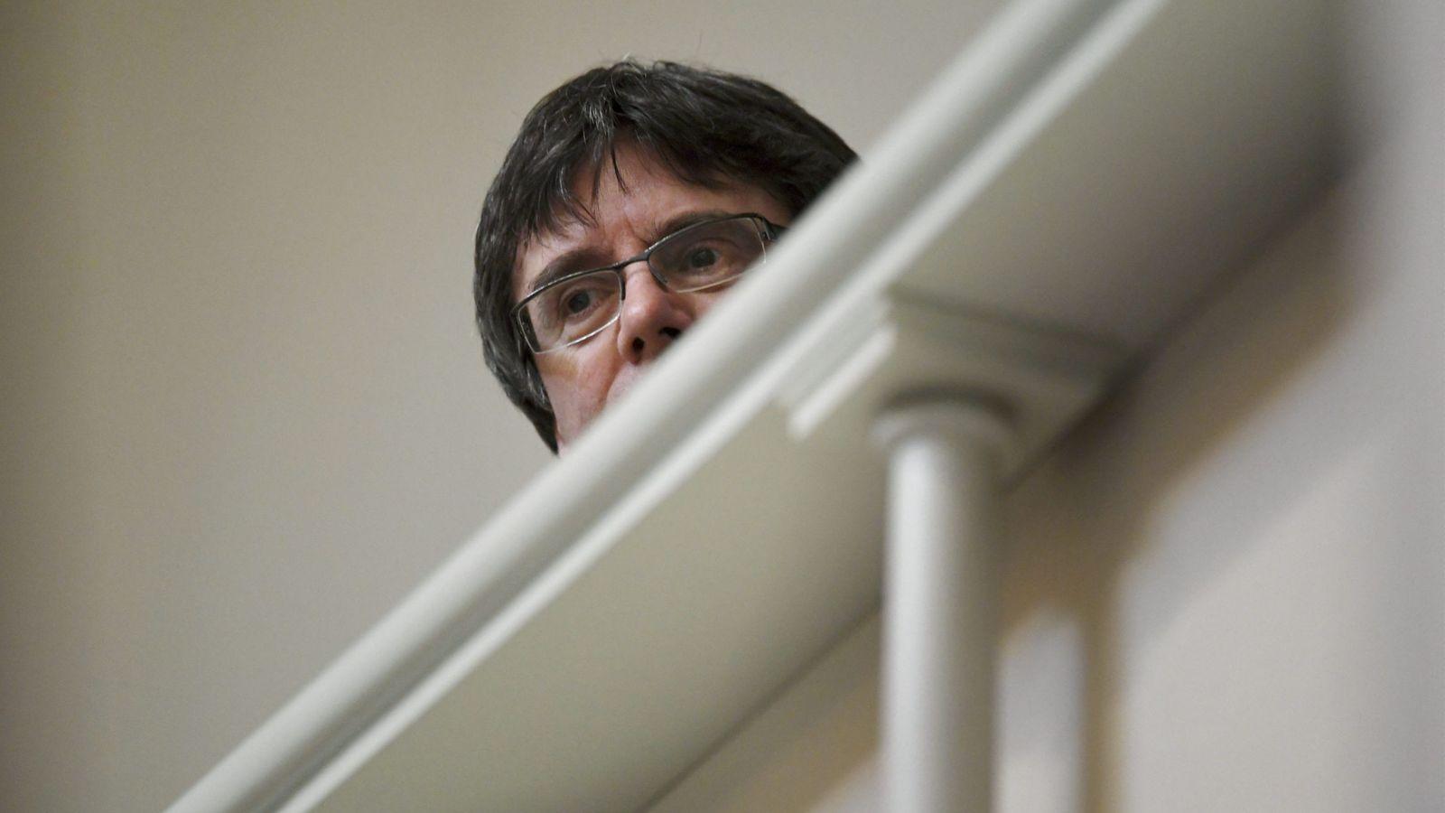 Foto: Puigdemont, durante su breve estancia en Finlandia. (Reuters)