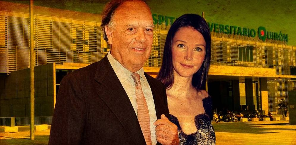 Foto: Carlos Falcó y Esther Doña en un fotomontaje realizado en Vanitatis.