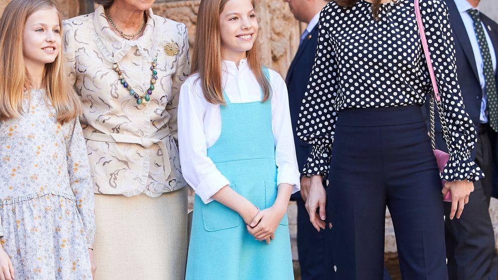 ¿Qué pasó en Mallorca? el vídeo viral de Letizia, Sofía y Leonor en Pascua