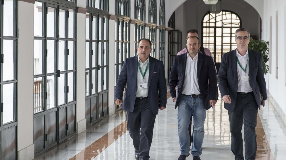 Foto: El número dos de C's Andalucía, Manuel Buzón. (EFE)