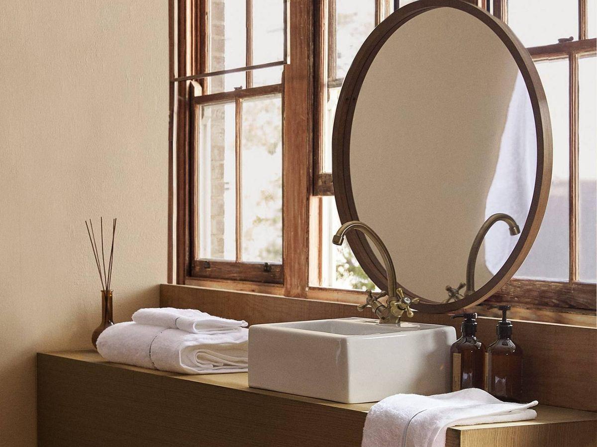 Foto: Soluciones de Zara Home para un baño pequeño y con estilo. (Cortesía)