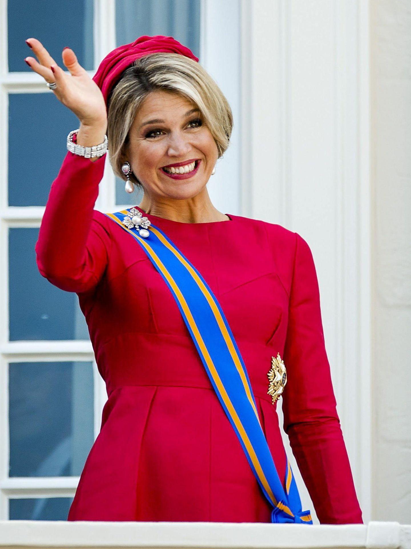 Máxima de Holanda, en el Prinsjesdag de 2014. (EFE)