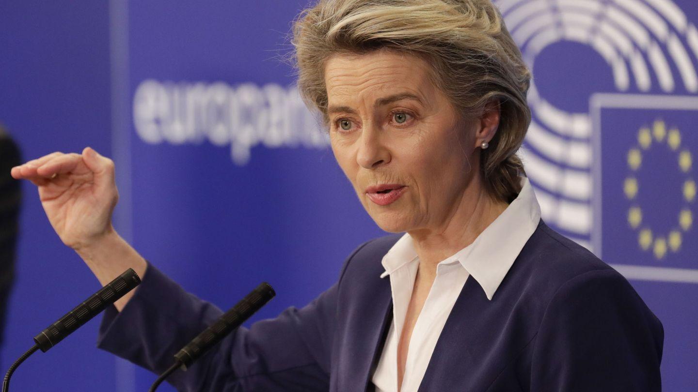 Von der Leyen, presidenta de la Comisión Europea. (EFE)