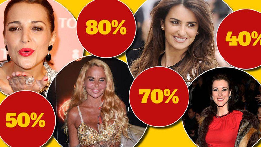 ¡Paula Echevarría al 60%! ¡Isabel Preysler con un 30%! ¡Llega el Black Friday VIP!