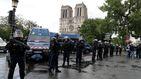 Abatido en París un hombre que intentó atacar a un policía con un martillo