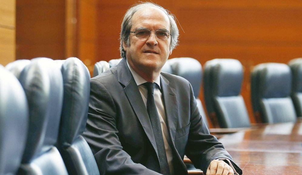 Foto: Ángel Gabilondo, portavoz del PSOE en la Asamblea de Madrid. (EFE)