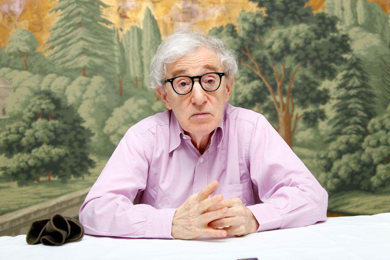 Foto: Woody Allen, 'encantado' de la vida con la contratación de Miley Cyrus