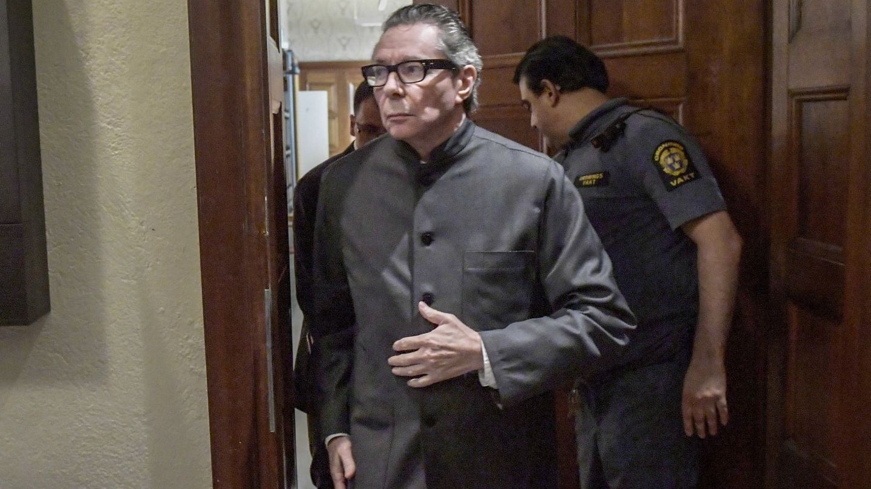 Jean Claude, en el juicio en el que fue condenado a dos años de cárcel. (EFE)