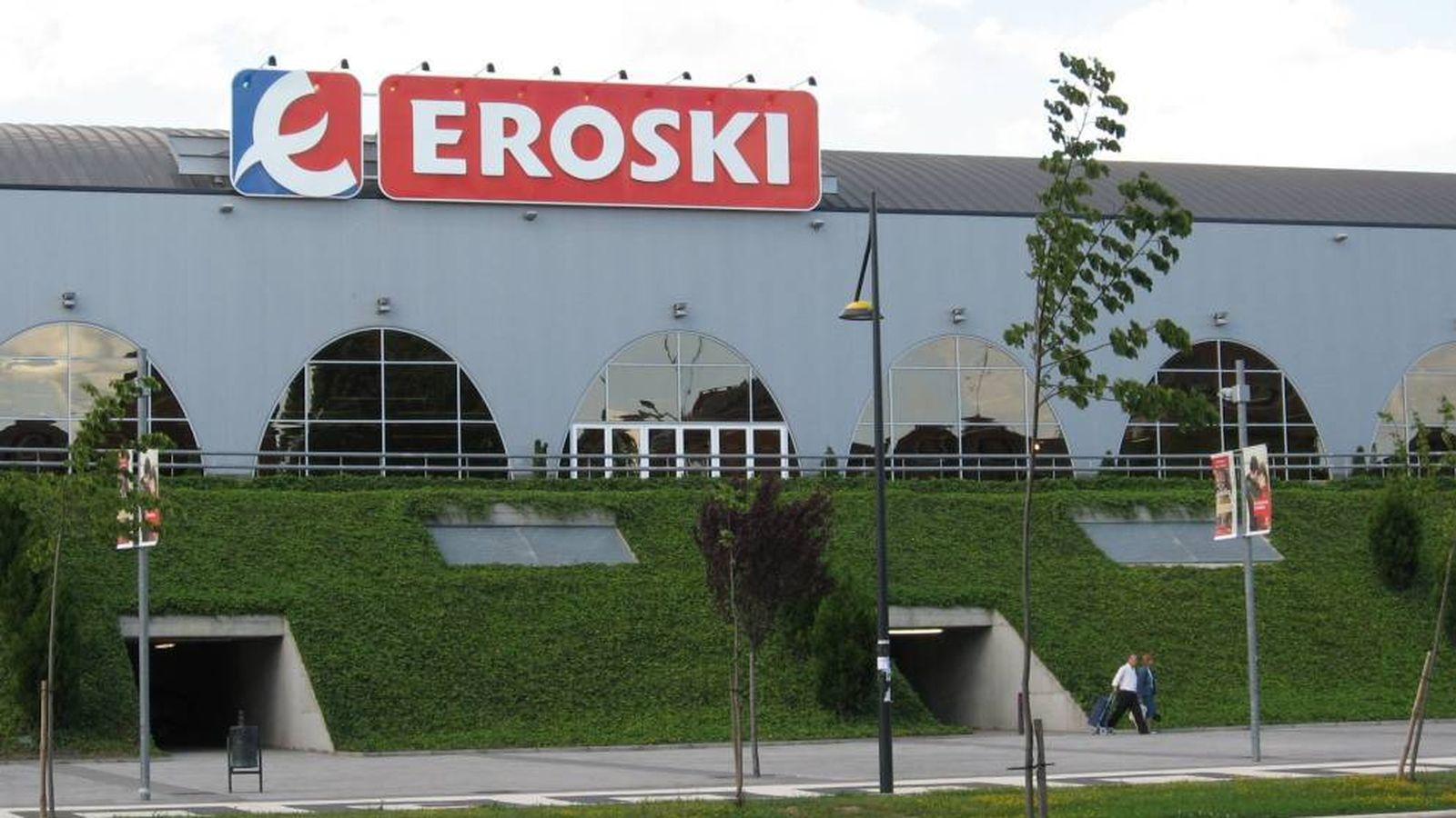 Foto: Centro Comercial Eroski en Vitoria.