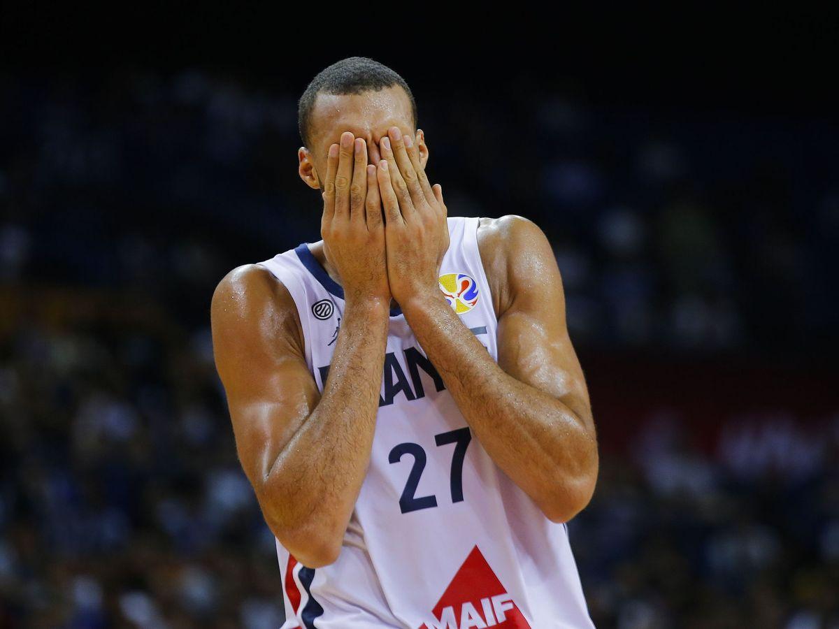 Foto: El jugador Rudy Gobert. (Reuters)