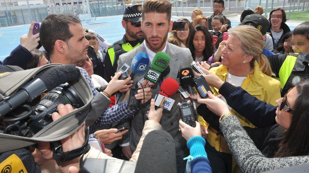 Foto: Sergio Ramos no quiso valorar los posibles pitos al himno en la final dela Copa del Rey.