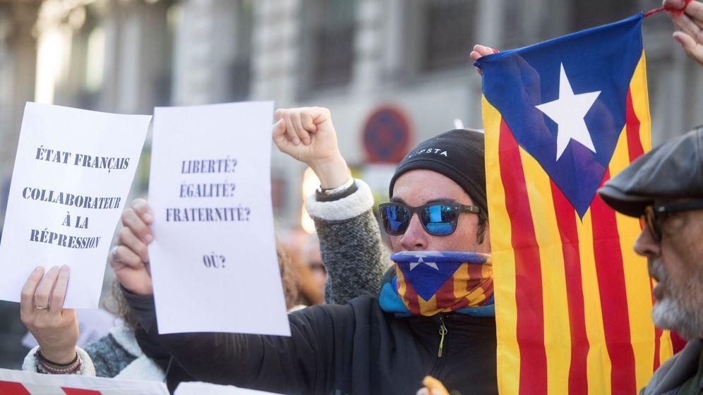 Foto: Protesta en Barcelona. (EFE)