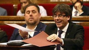 Puigdemont, quién se ríe de quién