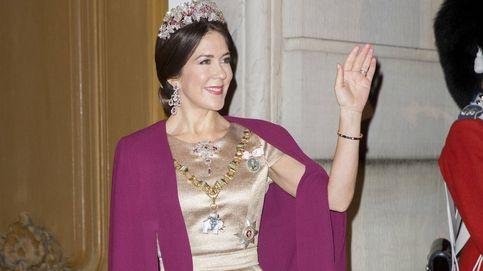La familia real de Dinamarca empieza el 2017 con una cena de gala