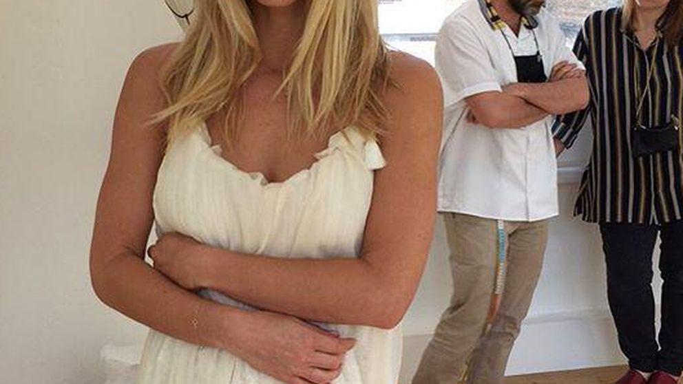 Bar Refaeli muestra su vestido de novia en Instagram