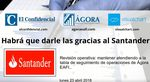 Habrá que darle las gracias al Santander
