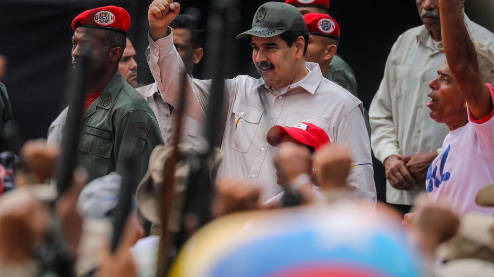 Foto: Nicolás Maduro, en un acto en Caracas. (EFE)