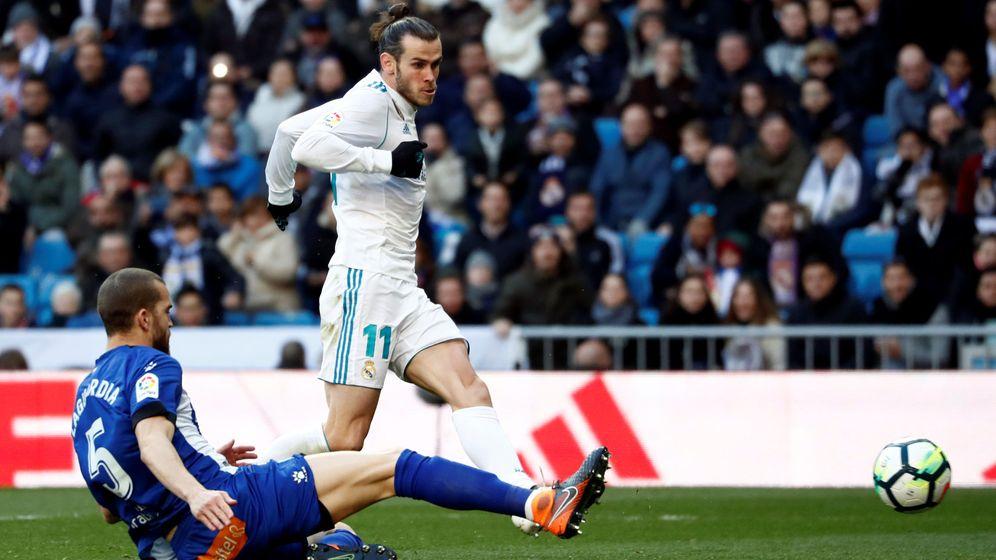 Foto: Bale remata conta el Deportivo. (Reuters)