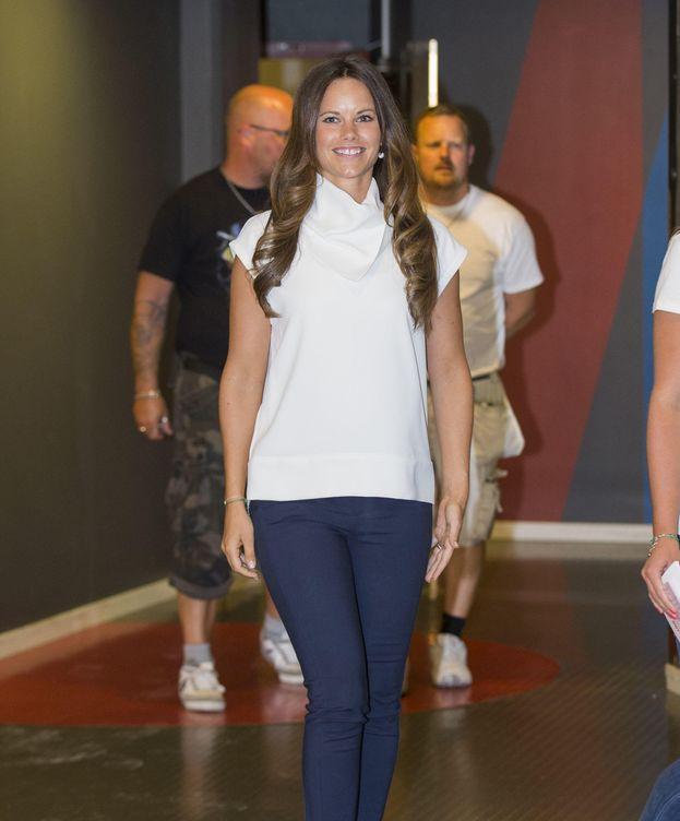 Foto: La princesa Sofía acudió a un acto en solitario este miércoles (Gtres)