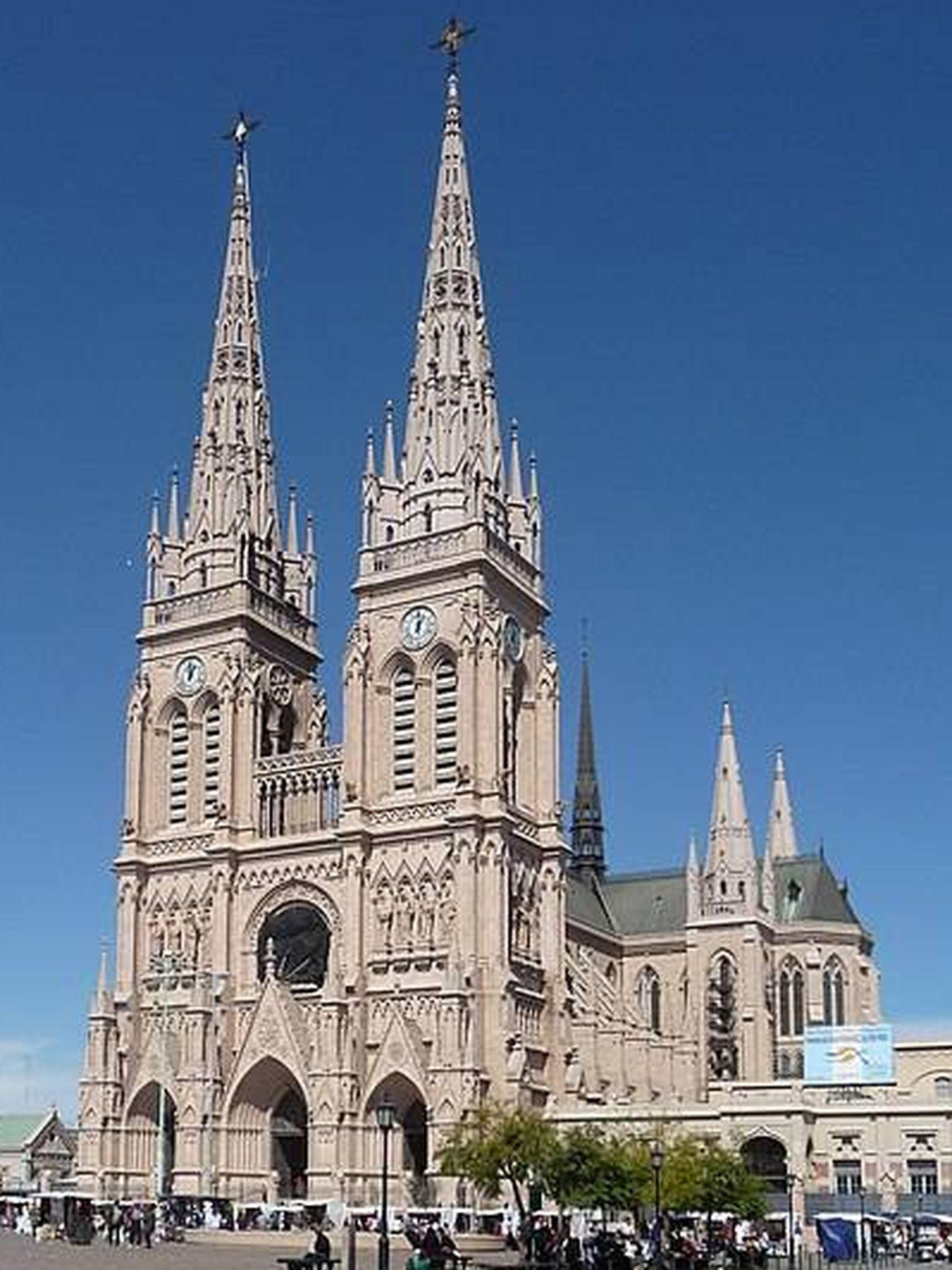Basílica Nacional de Nuestra Señora de Luján (Argentina). Foto: CC