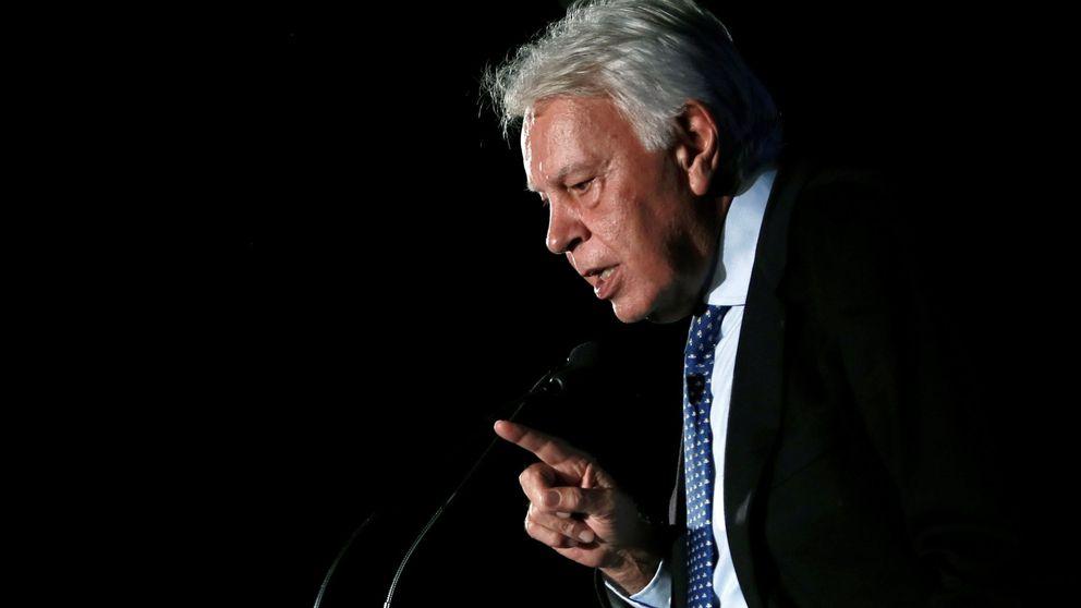 El juez admite la demanda de Felipe González contra Indra por  7,3 millones