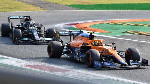 Hamilton comete un error grosero, Sainz es 7º y Alonso (11º) le gana el duelo a Ocon