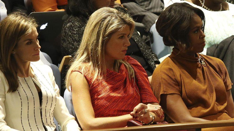 Duelo de damas en Nueva York: Letizia, Michelle y Máxima