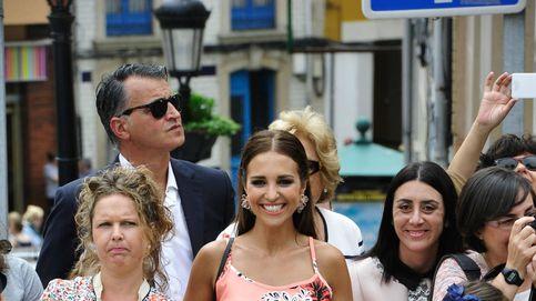 Exclusiva: Paula Echevarría y Daniella (sin David Bustamante) en la procesión del Corpus Christi