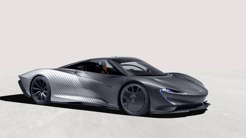 Tres meses para pintar el McLaren Albert Speedtail de un cliente de Beverly Hills