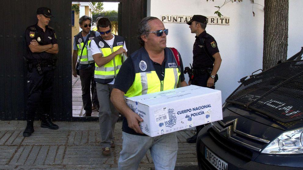 La UDEF agita la campaña andaluza con 110 detenciones más