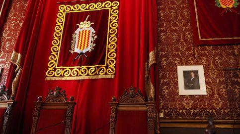 El Ayuntamiento de Tarragona sustituye el retrato del Rey por uno más pequeño