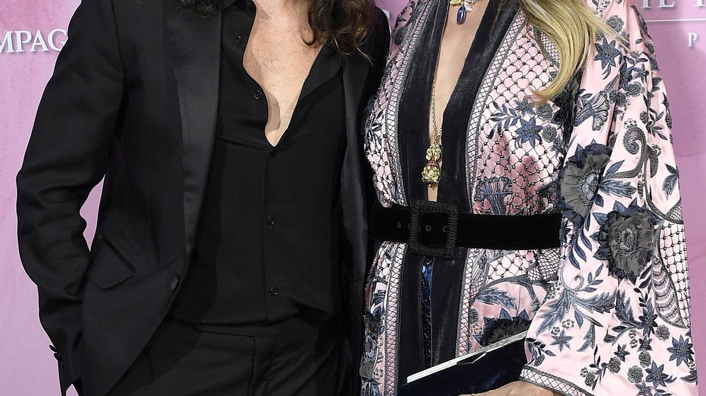 Foto: Tom Kaulitz y Heidi Klum. (Getty)