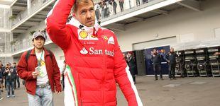 Post de Vettel se libra de recibir un 'paquete' único en la historia de la Fórmula 1