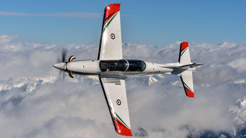 PC-21 de la Fuerza Aérea jordana (Pilatus)