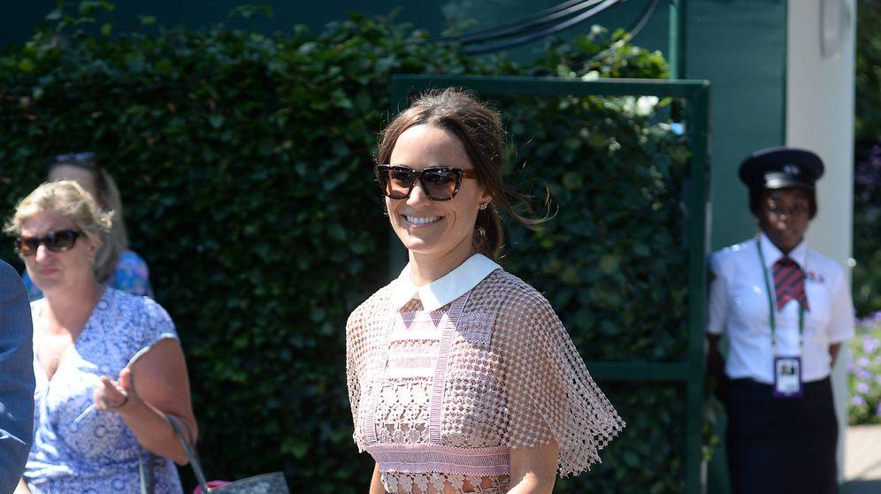 Foto: Pippa Middleton en las inmediaciones de Wimbledon. (Gtres)