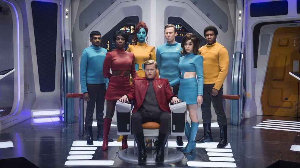 Foto: Imagen de 'USS: Callister', de 'Black Mirror'. (Netflix)