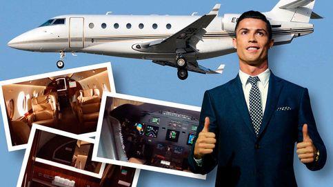 El último capricho de Ronaldo es un jet privado, ¿quién lo tiene más grande?