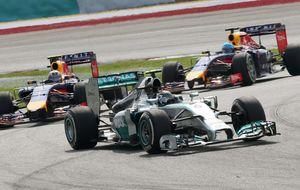 Los temores de Mercedes: Ojo, que viene pisando fuerte el lobo de Red Bull...