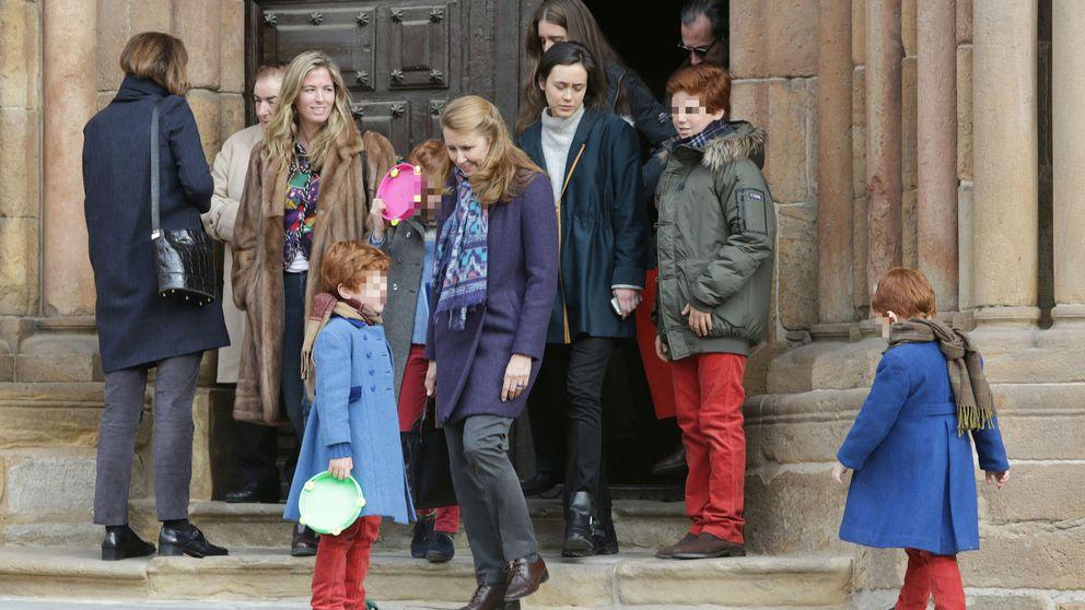 Los Marichalar (menos Jaime) se reúnen en el funeral anual por el conde de Ripalda