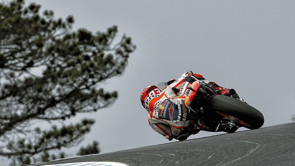 Márquez y sus cuentas pendientes se cuelan en el duelo Rossi-Lorenzo