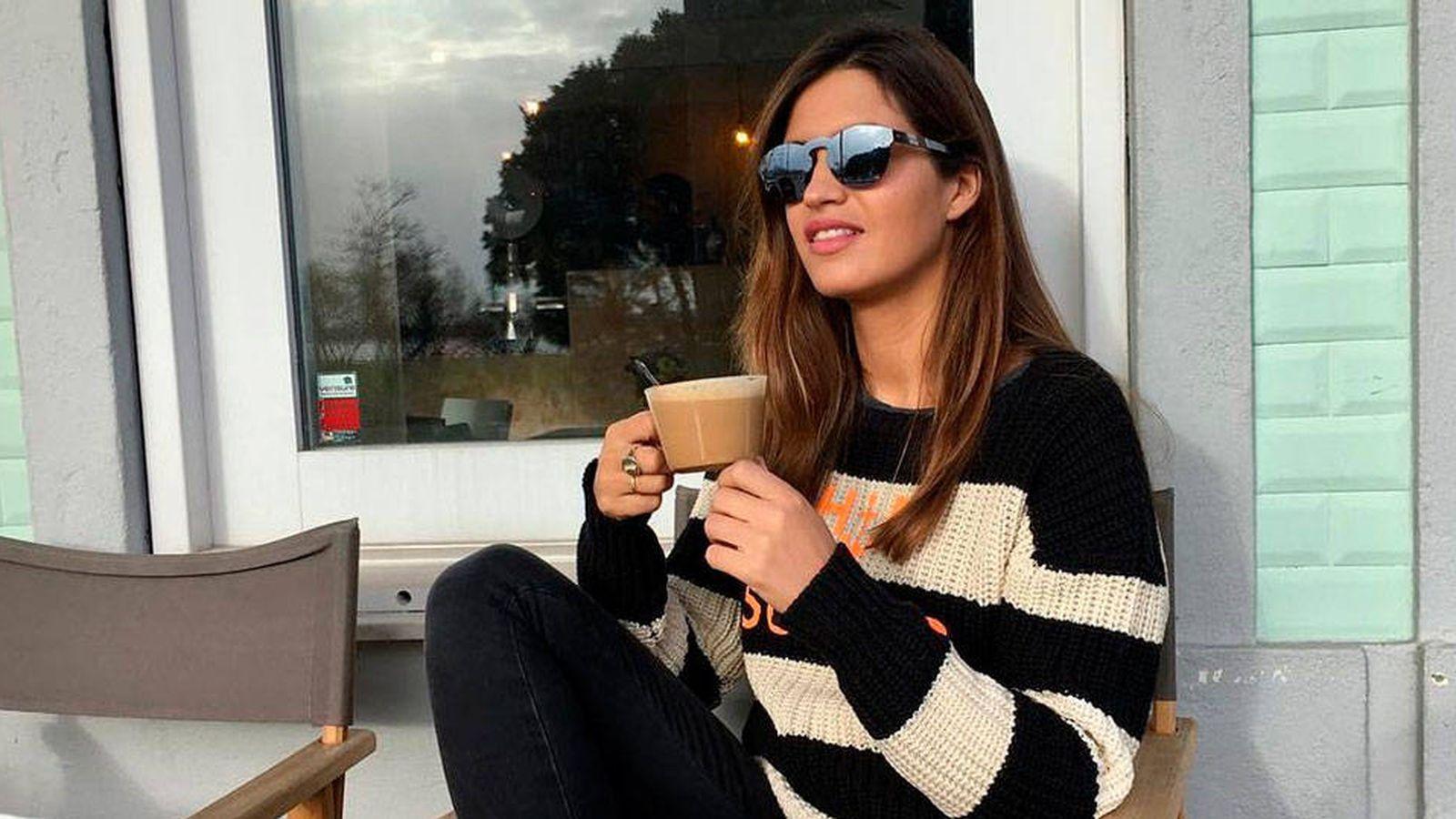 Foto: Sara Carbonero con gafas de Carrighan. (Cortesía de la marca)