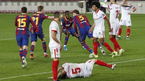 Piqué se viste de héroe para remontar y meter al Barça en la final de Copa (3-0)