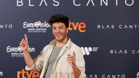 Eurovisión 2021 | Blas Cantó no convence en su primer ensayo: ¿Una luna?
