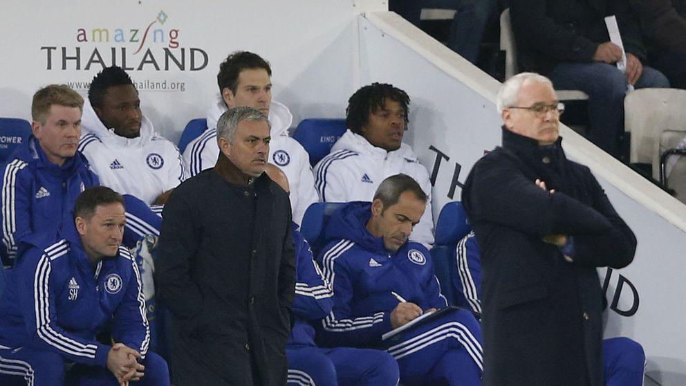 Ranieri saborea su venganza: sitúa a Mourinho a un punto del descenso
